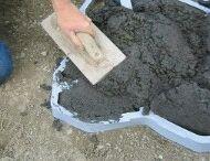Backyard Concrete