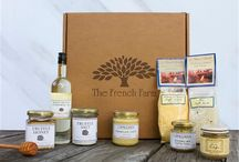 French Farm Gift Boxes / Gourmet gift boxes that have been crafted with you in mind. These gift boxes are filled with the best of the best of The French Farm, and each box has an appropriate theme. Whether you can't get enough of Spanish foods, or the foodie in your life is obsessed with Provence, there is a gift box for you.