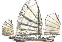 Jonques et bateaux