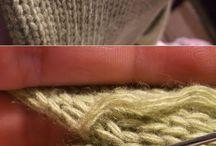 Приемы и техники вязания