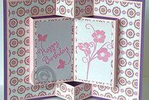 Cards - Fancy folds