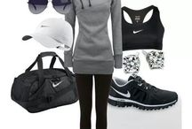 Gym and sporty casual