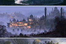 Inspiration - Fantasy Landscape