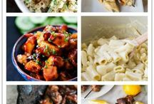 Weekly Meal Plans / Meal Plans from around the web that share breakfast, lunch and dinner recipes for weekly meal plans. / by Jen {YummyHealthyEasy.com}
