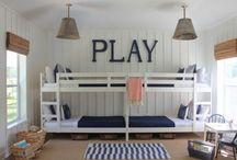 Chambre d'enfant maison de vacances