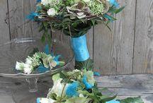 esküvő dekor -  Annie's Design Wedding / Menyasszonyi csokrok, autódíszek, kiegészítők, helyszíndekorálás ♥
