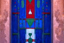 colorful doors of the world / by Tea Collection