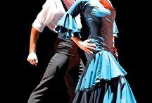 Para flamenco / Para w niebieskim