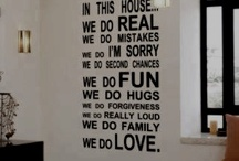 For the Home / by Ericka Dickason