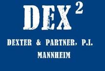"""Dexter im Quadrat - von Jens Holzinger / Die Detektei """"Dexter & Partner"""" ermittelt in Mannheim. Der Pilot des Online-Krimis erscheint am 1. Juni 2013 unter https://sites.google.com/site/sechoch2/"""