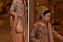 Wedding - Peach Indian Outfits