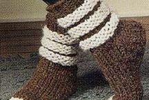 pletené ponožky