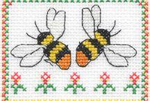 Cross Stitch: Bugs