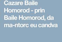 Cazare Baile Homorod