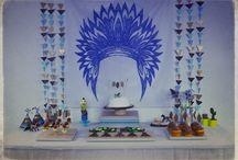 Pow wow Party - Petits Indiens / Anniversaire sur le thème des indiens