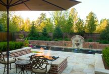 Vine / Classic Pool and Fire pit