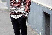 Boho/urban men style