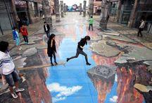 Sidewalk Art / by Ruth Crawford