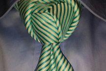 tie knots / Tie your tie with creative, attractive knots.