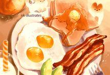 Food (*´∀`*)