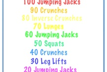 Workouts for the hotel! / by Claire Caitlin