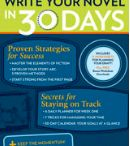 Writing novel in 30 days