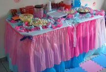 Festa infantil / Fotos para inspirar a criação de festas em casa, sem gastar muito e sem contratar serviços profissionais. E além de tudo, fazer do seu jeito!
