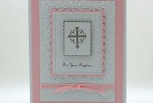 Cardmaking - křtiny