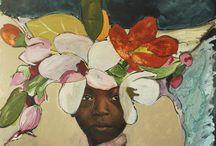 schilderijen Afrika Saskia Frinking
