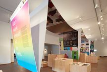 Signage and Exhibits / A collection of beautiful signage, exhibit and environmental design. Innovative ideas for spaces, retailers, buildings and events. / by Paul Biedermann