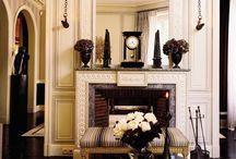 american classic living room