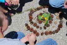 Art - nature art for children