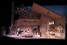 stage scene set