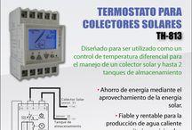 Ahorro energético -Energías Renovables - Termostatos para colectores Solares.