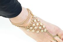 Anklet / Anklets, foot chain, shoe chain