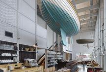 office in shipyard