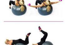 exercise + balon