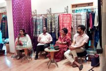 Baluchari: Bengal and Beyond Press Meet / As the days of the exhibition approaches, preparations are on to bring back the lost legacy of the Baluchari.