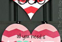 Door hangers - valentines