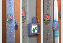 Χειροποίητες πασχαλινές λαμπάδες - handmade Easter candles