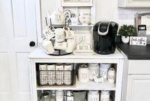 Kaffe/te bar