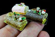 Spécial Noël miniature / Aliments , deco ect .......