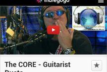 The CORE - Guitarist Duets / Band News & Pics