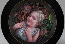 Portraits of Artist's Children