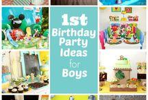 Davis' 1st Birthday..
