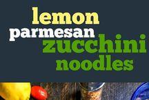 COOKING:  Zucchini