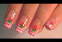 pink nails tutorial & video by nded / pink nails tutorial & video by nded