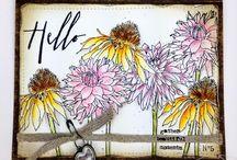 Tim Holtz blommor