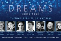"Gala 2014 | Dreams Come True: A Celebration of Juilliard Music / ""Dreams Come True: A Celebration of Juilliard Music,"" a gala evening at Juilliard on Tuesday, April 29, 2014 featured performances and appearances by distinguished alumni, conductors Alan Gilbert and Evan Rogister, mezzo-soprano Isabel Leonard, soprano Susanna Phillips, violinist Charles Yang, and pianist Peter Dugan, with dinner and dancing following in The Tent at Lincoln Center 