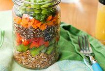 Weight Loss Food- Mason Jar Salads / by Julia Brannon
